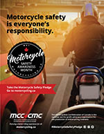 Poster - On-road Motorcycle safety