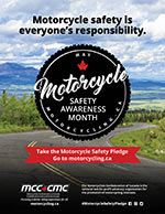 Poster - Motorcycle safety