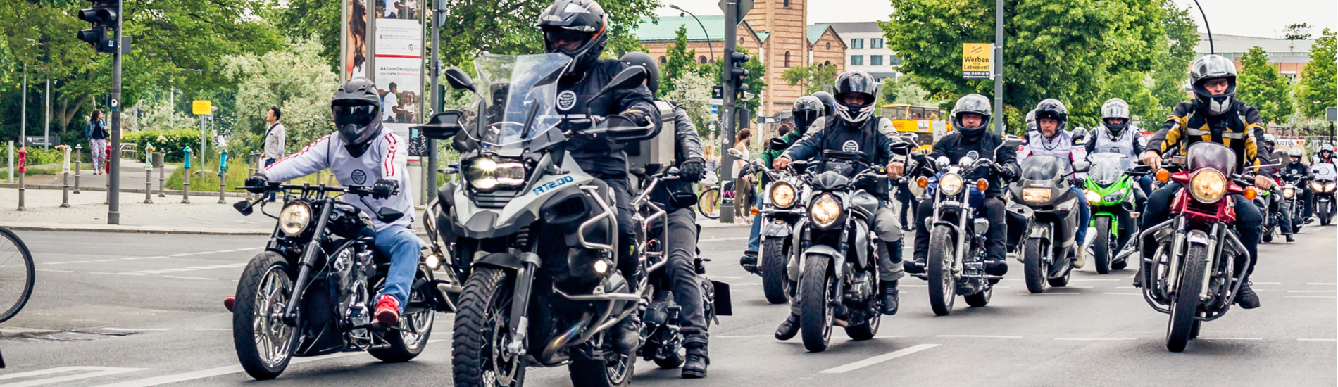 Raising money for charities, one ride at a time