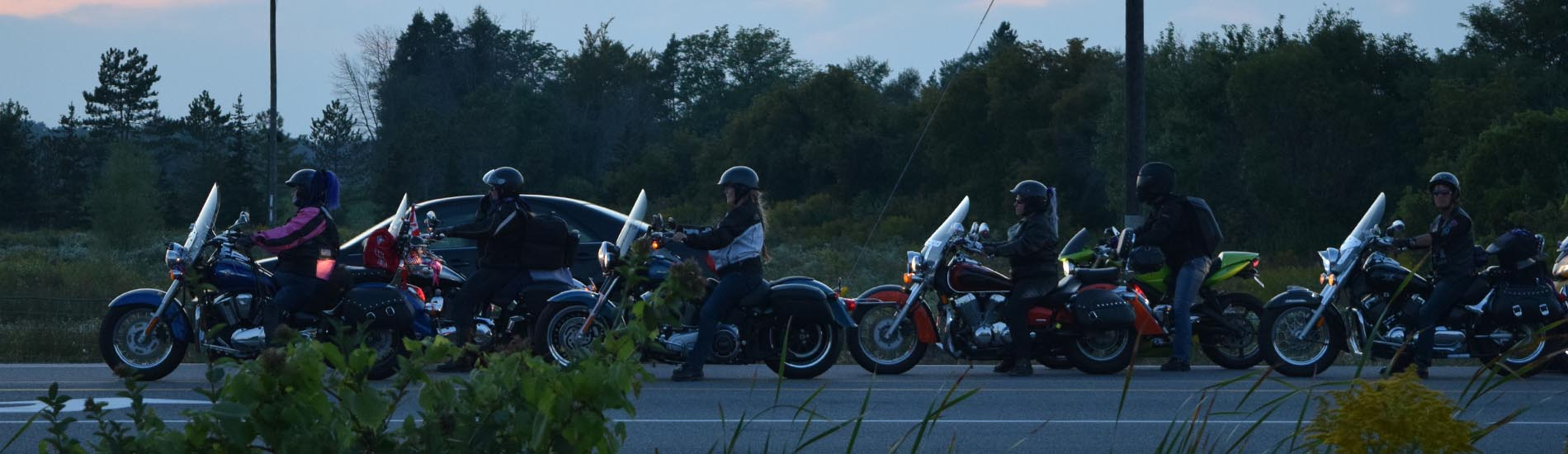 Motorcycle relay unites women riders around the globe